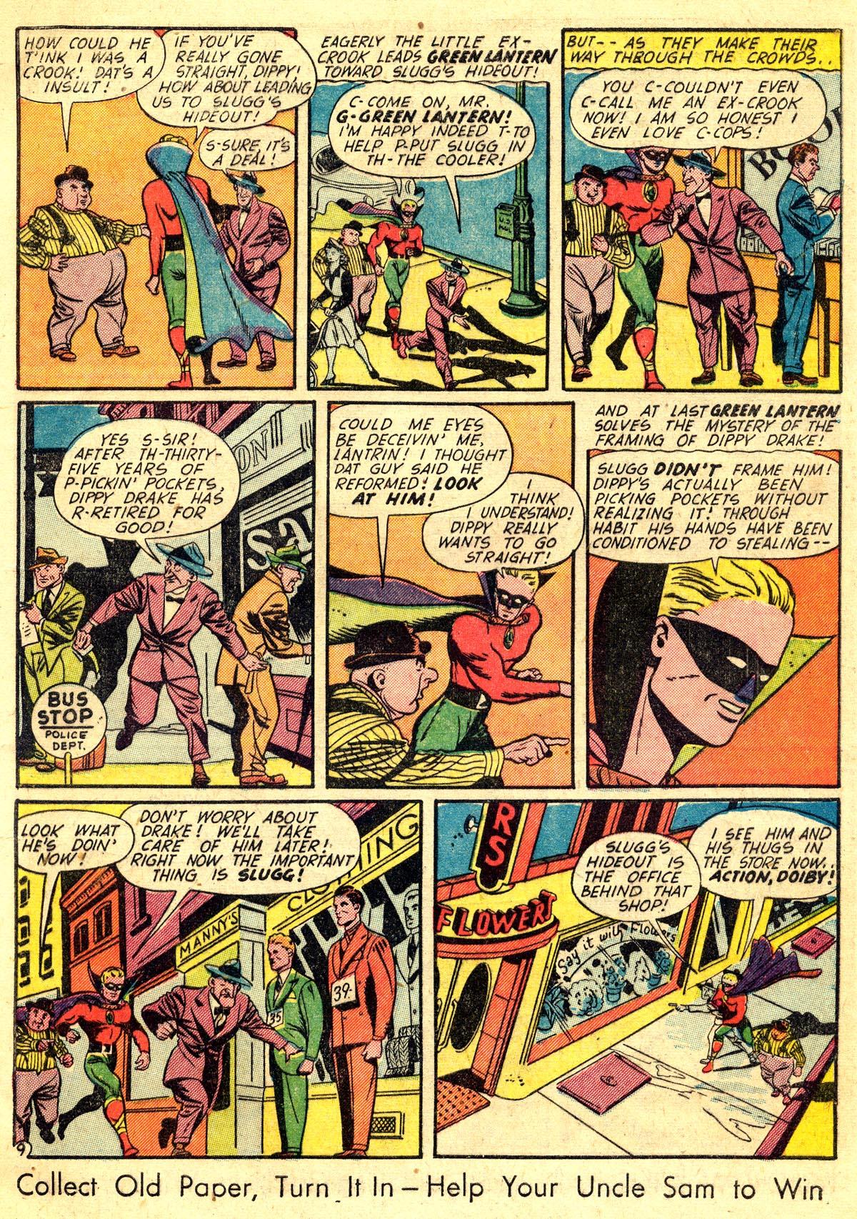 Read online All-American Comics (1939) comic -  Issue #60 - 11