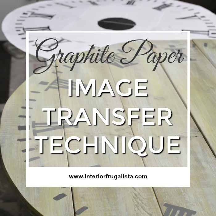Graphite Paper Image Transfer Technique