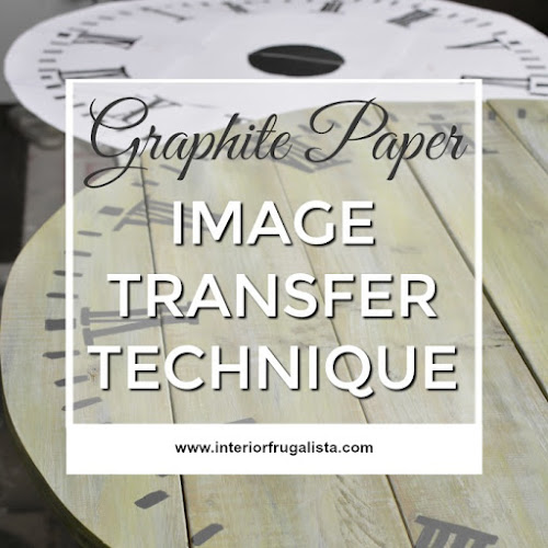 Image Transfer Technique With Graphite Paper