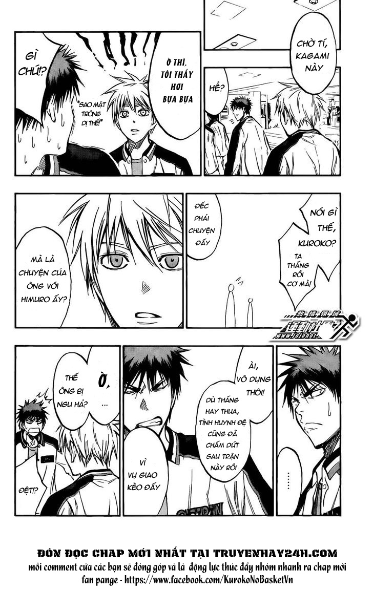 Kuroko No Basket chap 169 trang 14