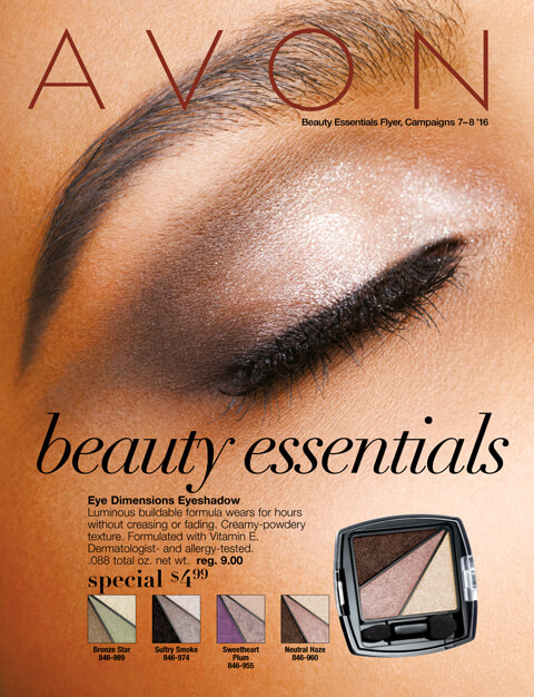 Avon Beauty Essentials Campaign 7 & 8 2016