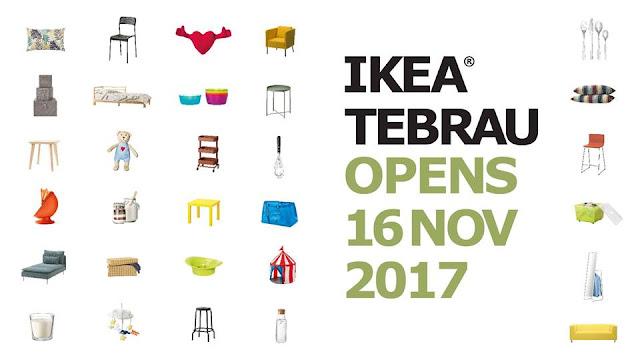 ikea tebrau, ikea johor, pembukaan Ikea Tebrau