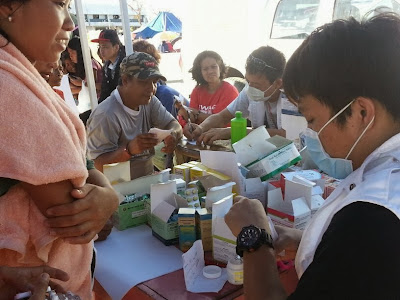 Medical assistance for Typhoon Yolanda survivors