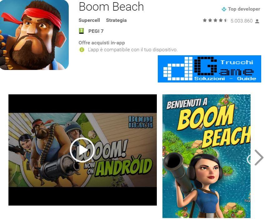 Trucchi Boom Beach Mod Apk Android v30.104