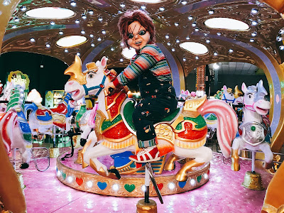 """Chucky estrela nova """"Câmera Escondida"""" do """"Programa Silvio Santos"""". Crédito da foto: Dilvilgação/SBT"""