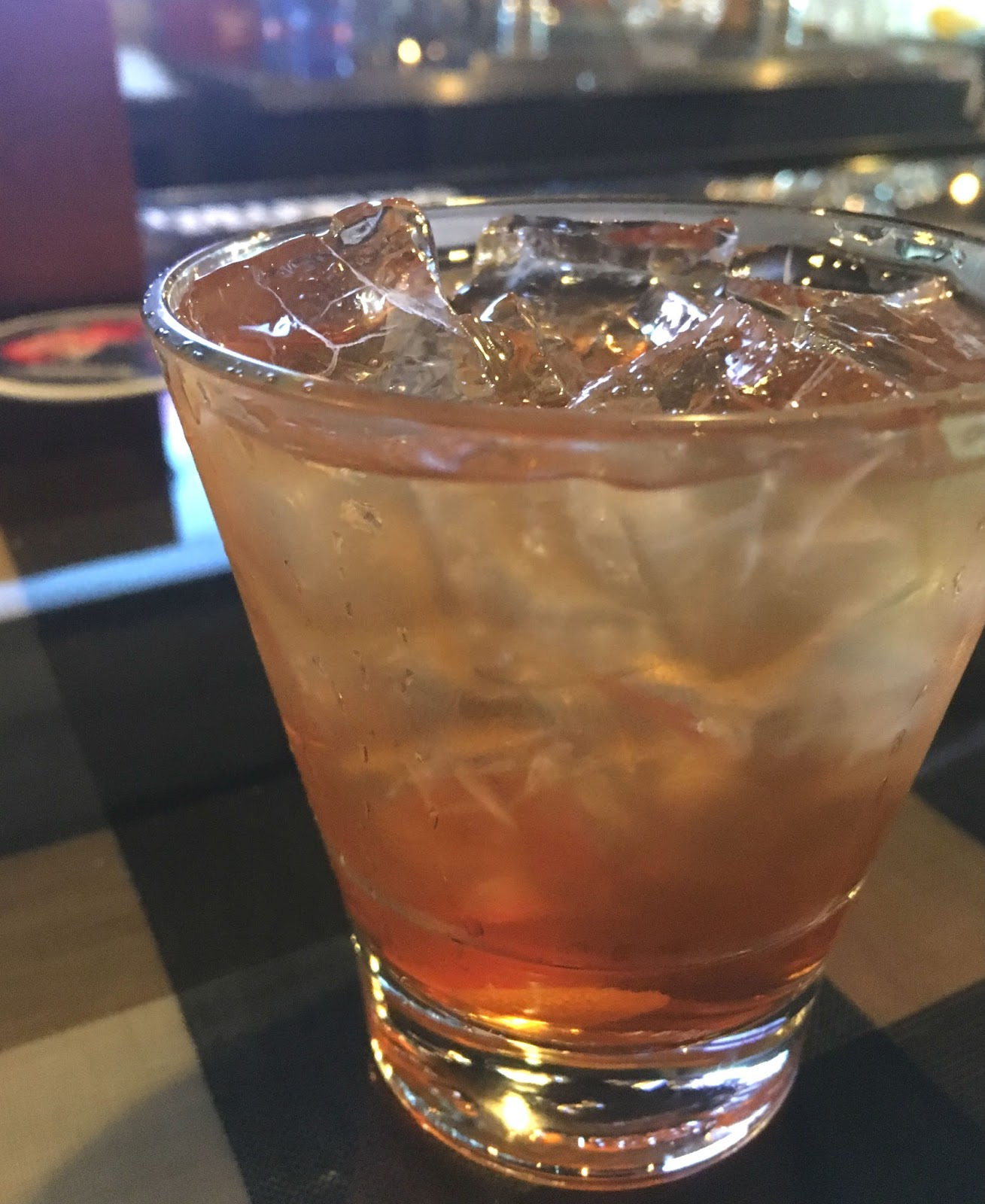 "the ""Not So"" Old Fashioned at Harold's Tap Room - A bar/restaurant in Houston, Texas"
