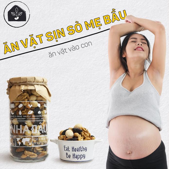 Chế độ ăn giúp Mẹ Bầu tháng cuối đủ chất mà không lo tăng cân