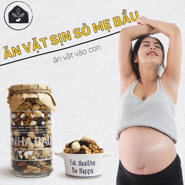 [A36] Gợi ý món ăn vặt an toàn, bổ dưỡng cho Mẹ Bầu 6 tháng