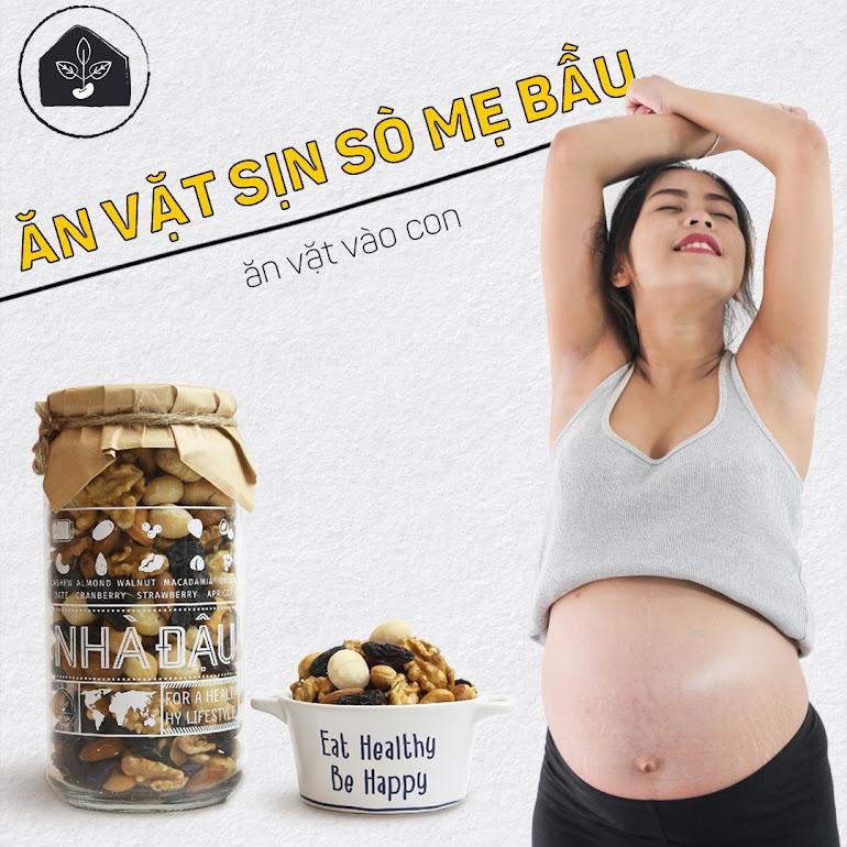Mang thai lần đầu 3 tháng đầu Bà Bầu nên ăn gì?