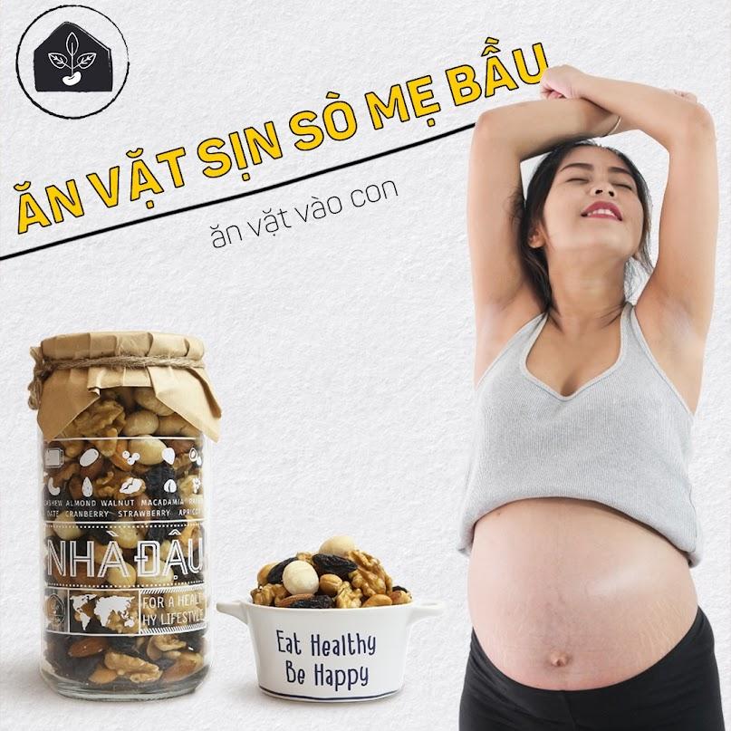 """[A36] Mách Mẹ Bầu combo đồ ăn vặt giàu dưỡng chất, """" vào Con không vào Mẹ"""""""