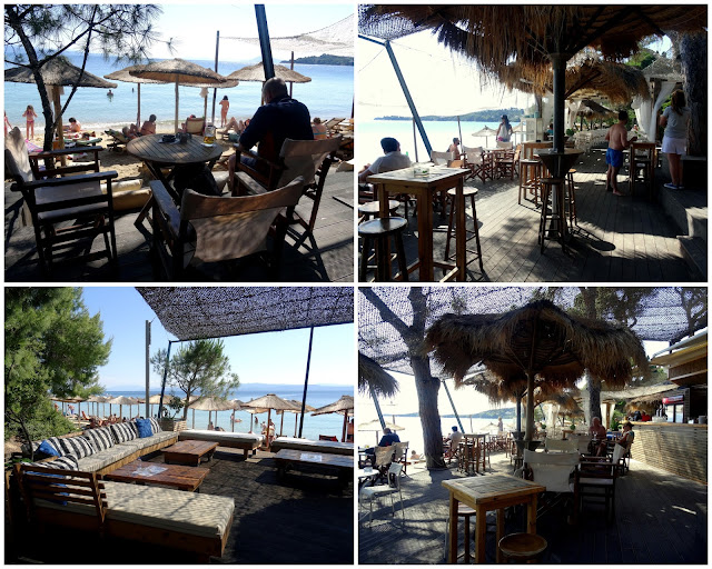 Porto Paradiso Beach Bar Taverna Vromolimnos Beach, Skiathos, Greece