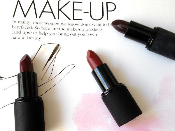 Going Autumnal: 3 new Sleek Lipsticks