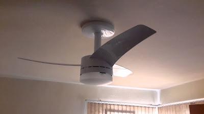 Instalação de ventilador de teto Arno Alivio em Salvador-71-99111-2954