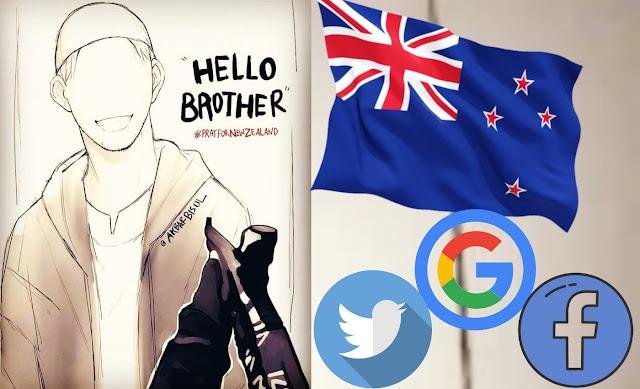 Facebook و Google و Twitter يحاربون الإرهاب بسبب حادث مسجد نيوزيلندا