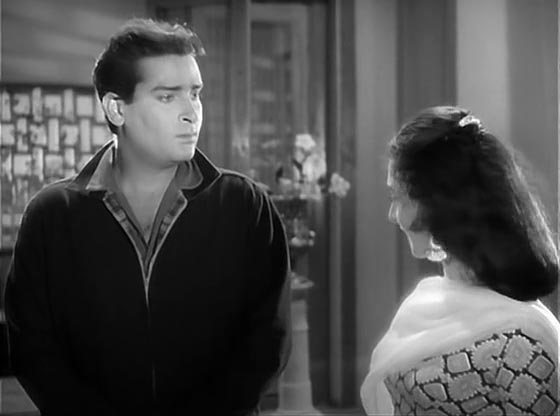 Screen Shot Of Hindi Movie Bluff Master 1963 300MB Short Size Download And Watch Online Free at worldofree.co