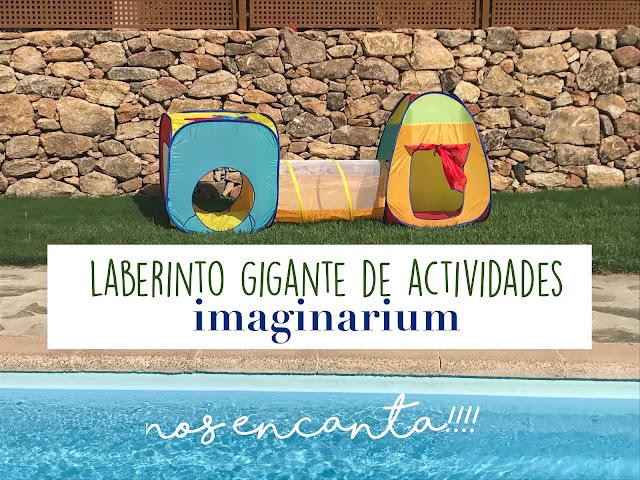 LABERINTO DE ACTIVIDADES GIGANTE DE IMAGINARIUM