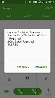 Cara Unreg Registrasi Telkomsel