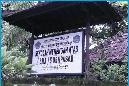 SEKOLAH SMA TERBAIK DI DENPASAR TAHUN 2019