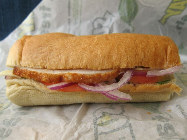 Review Subway Carved Turkey Sub