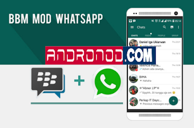 BBM MOD WhatsApp v2.13.1.14 Apk Clone & Unclone Terbaru