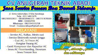 Jasa Service Freezer Box Daerah Sidoarjo