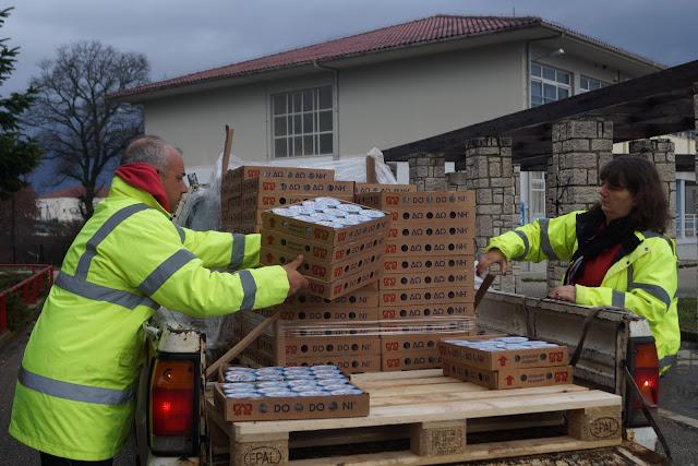 Γιάννενα: Γαλακτοκομικά προϊόντα στα σχολεία του Δήμου Ζίτσας