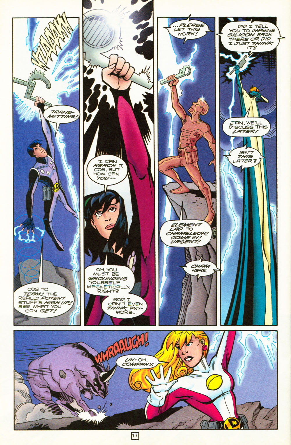 Legion of Super-Heroes (1989) 101 Page 17