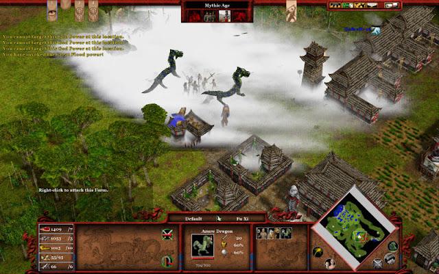 Age of mythology dragon cheats