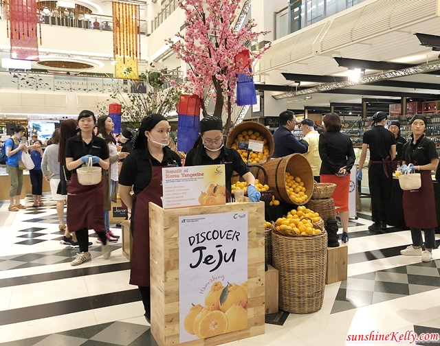 Discover Jeju Exotic Taste, Discover Jeju, Jeju Food Fruits & Beverages,  Jasons Food Hall, Korean Food Festival