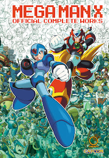 Udon MEGA MAN X OFFICIAL COMPLETE WORKS art book