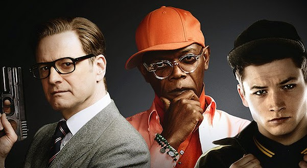 Colin Firth and other actors in the new trailer Kingsman: The Secret Service