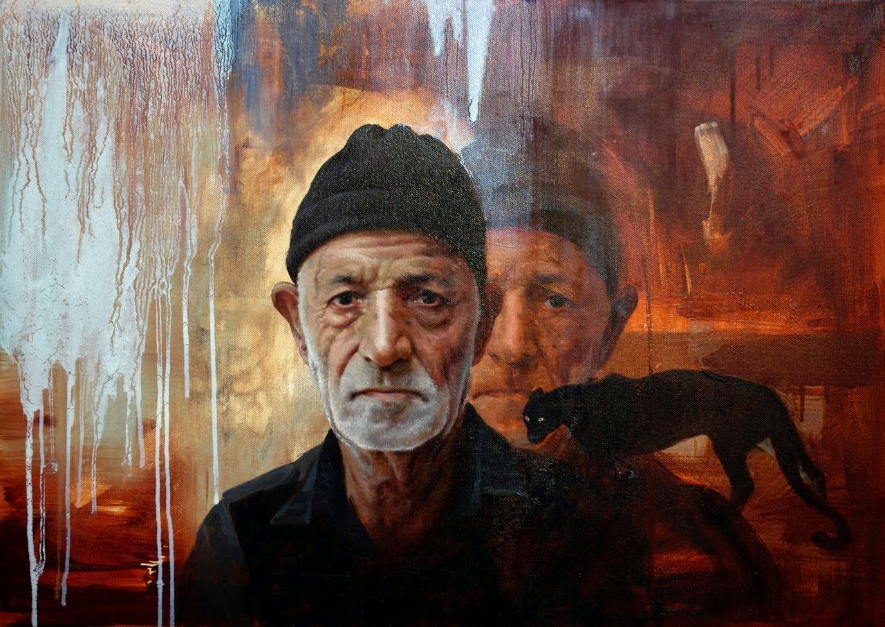 "Paintings by Iranian Artist ""Shahrzad Hazrati"""