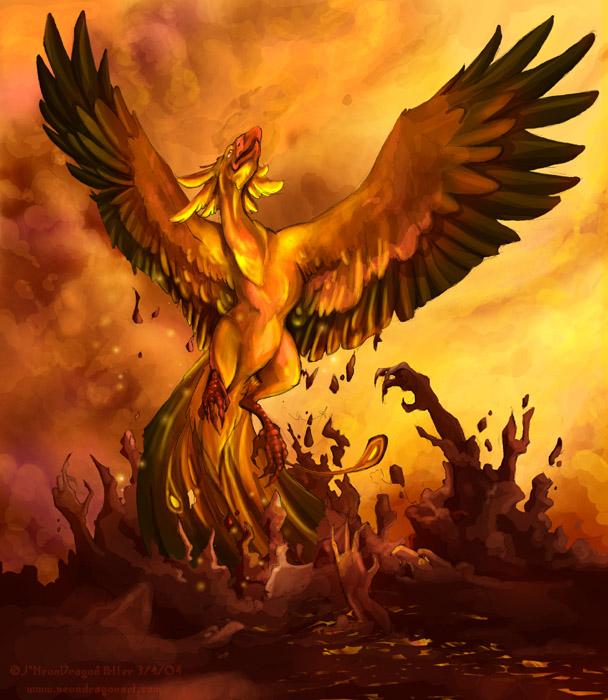 Legenda Phoenix Si Burung Api