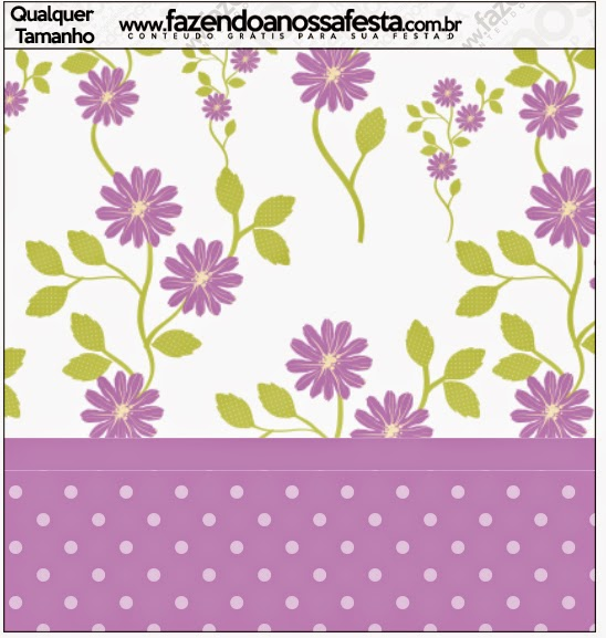 Purple Flowers Free Printables Candy Bar Labels Oh My