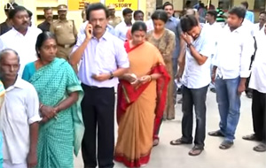 Jayalalithaa Trying To Smuggle Money From Tamil Nadu – M.K.Stalin