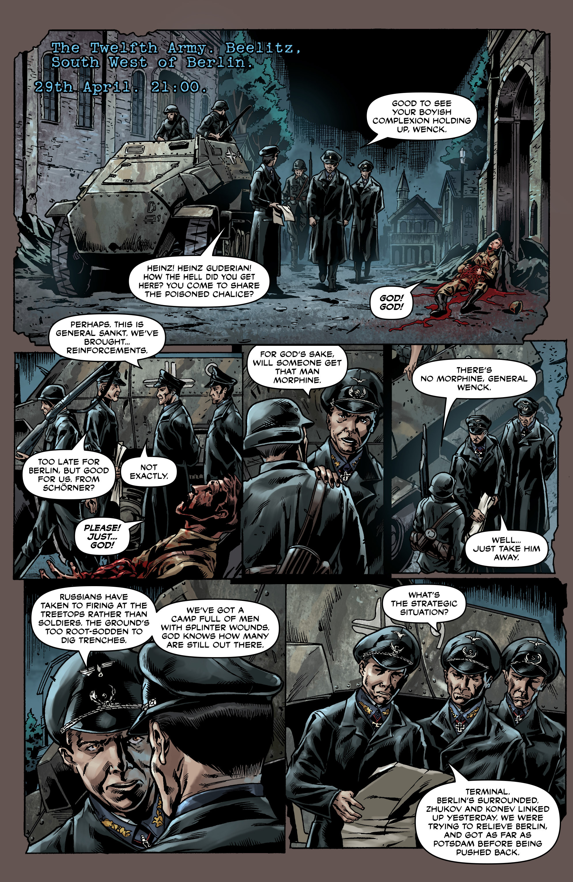 Read online Uber comic -  Issue #0 - 25