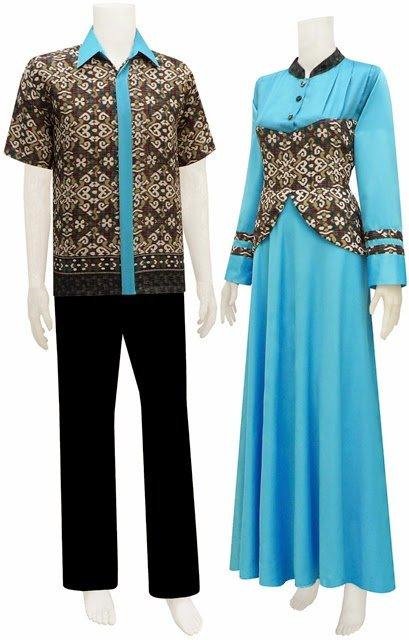 Baju Gamis Batik Terbaru Hijab Nemo