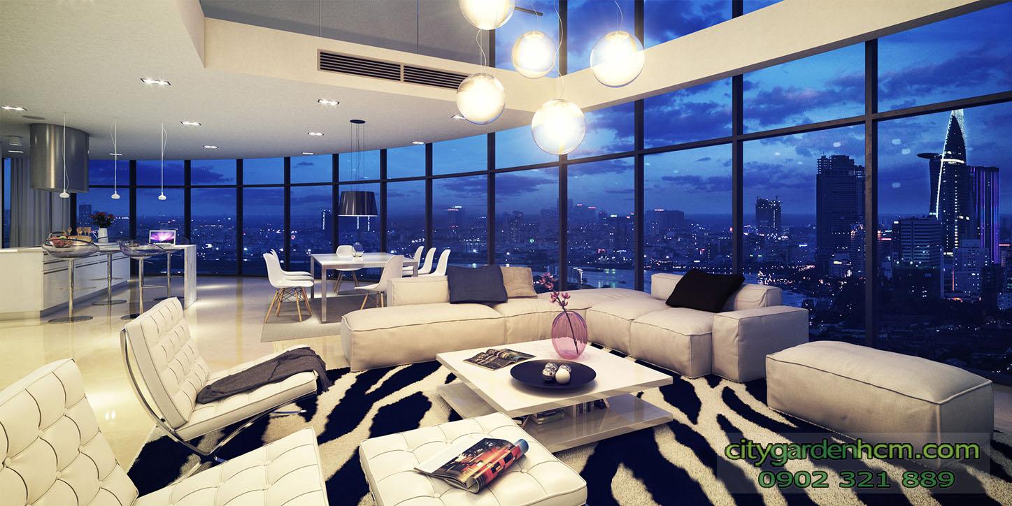 ban can ho city garden penthouse