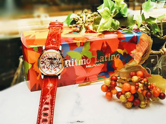 Ritmo Latino MILANO  リトモラティーノ ミラノ 梅田ファッション イタリア ステラ 星空グリーン  SELECT プレゼント 遊び心 時計 WATCH D3EB21GS 流れ星