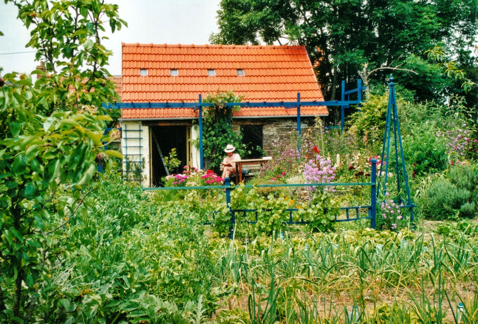 Organic garden in Normandie