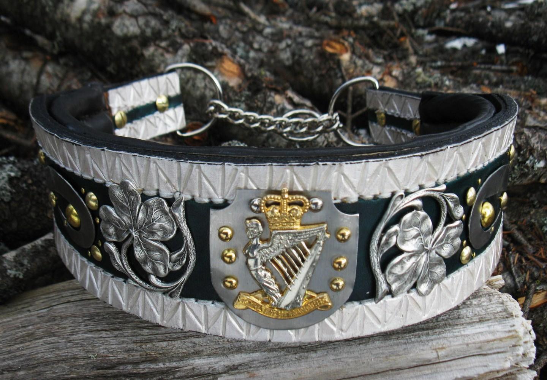 Irish Martingale Collar  U2013 Oli Collars Custom And Designer