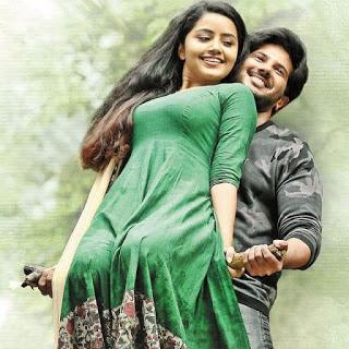 Malayalam actress Anupama with Dulquer hot images