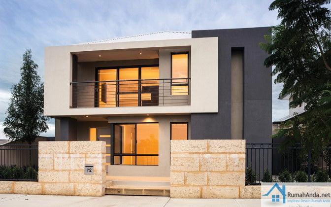 Desain Rumah Minimalis 2 Lantai Type 60 - Blogger Reog