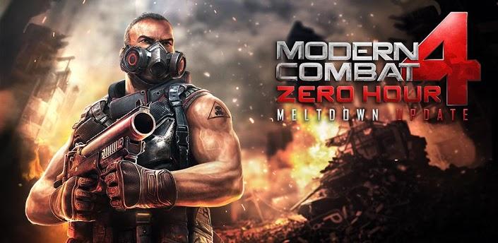 لعبة Modern combat 4 مهكرة