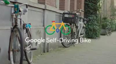 google self driving bike