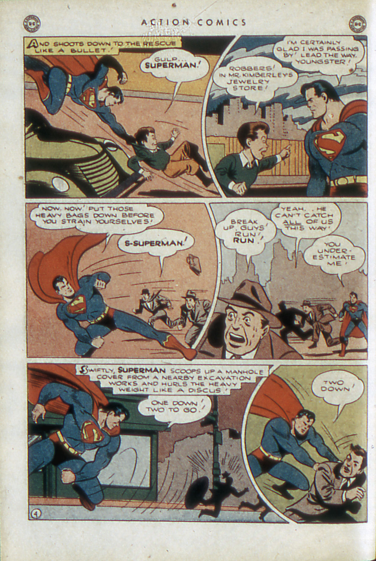 Read online Action Comics (1938) comic -  Issue #84 - 7