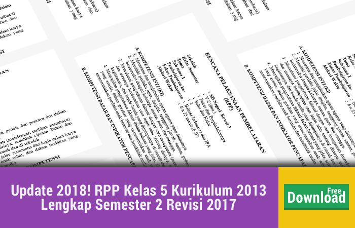 Update RPP Kelas 5 Kurikulum 2013 Lengkap Semester 2 Revisi 2017.jpg