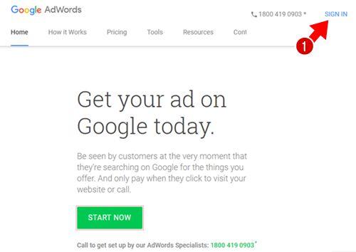 Keyword Planner Tool के लिए Google Adword पर account क्रिएट कैसे करे
