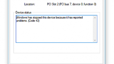"""Cara Mengatasi NVidia Yang Error Kode 43 """"Windows Has Stopped This Device Because It Has Reported Problems"""""""