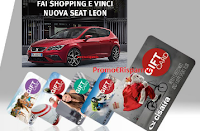 Logo Fai shopping e vinci Card Cisalfa Sport e una Nuova Seat Leon
